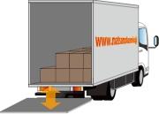 荷物運送・運搬トラック パワーゲート車のご紹介
