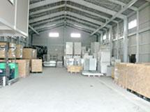 倉庫内の様子1